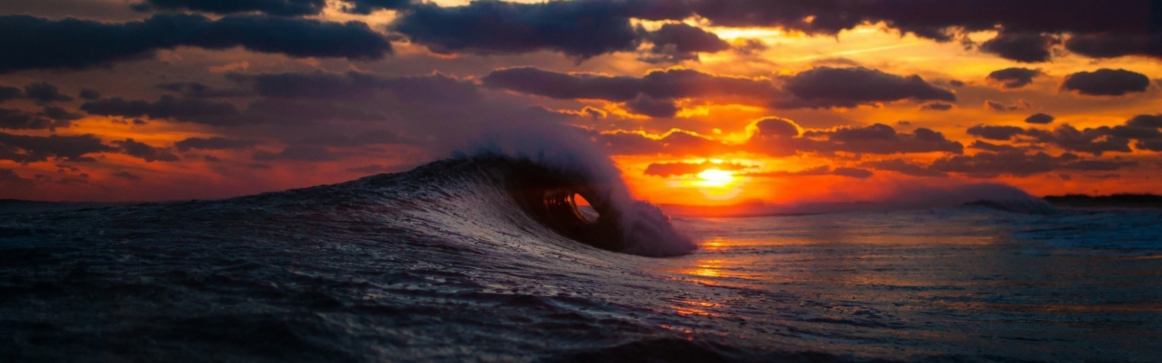 the gallery for gt surf wave wallpaper sunset